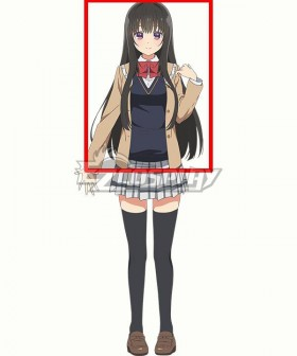 Seirei Gensouki Spirit Chronicles Ayase Miharu Black Cosplay Wig