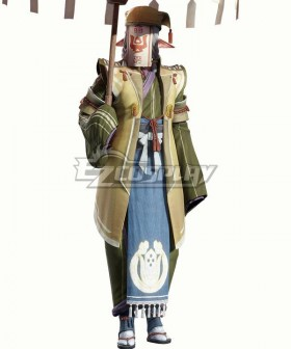 Monster Hunter Rise The Merchant Kagero Halloween Cosplay Costume
