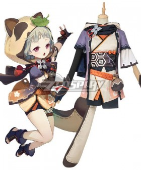 Genshin Impact Sayu Halloween Cosplay Costume