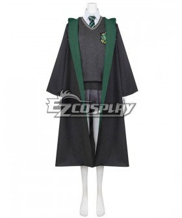 Harry Potter Slytherin School Uniform Halloween Cosplay Costume
