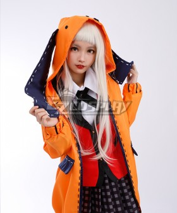 Kakegurui Compulsive Gambler Runa Yomozuki Cosplay Costume
