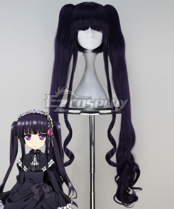 Absolute Duo Sakuya Tsukumo Purple Cosplay Wig