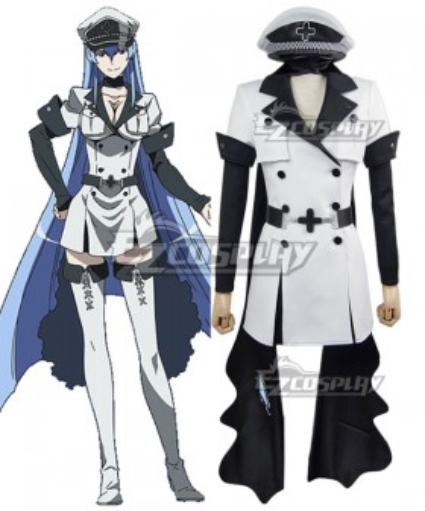 Akame Ga Kill! Jaegers Esdeath Cosplay Costume
