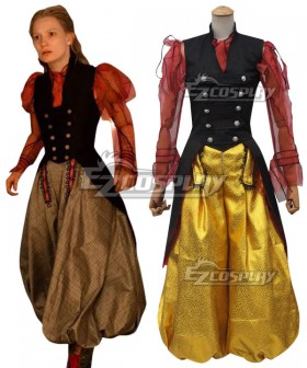 Alice in Wonderland Alice's Adventures in Wonderland Alice Kingsleigh Cosplay Costume - B Edition
