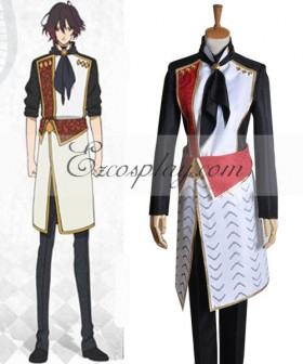 AMNESIA Shin Working Uniform Cosplay Costume