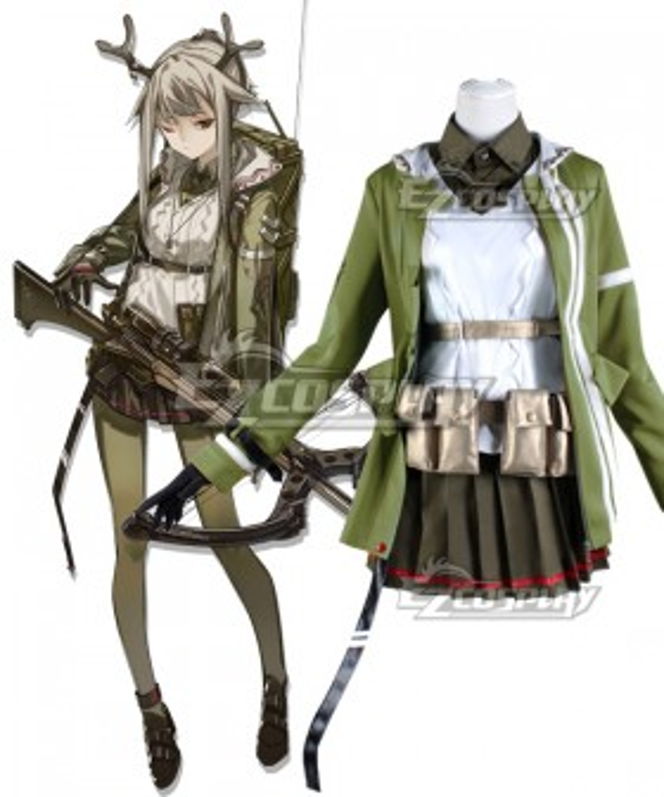 Arknights Firewatch Cosplay Costume