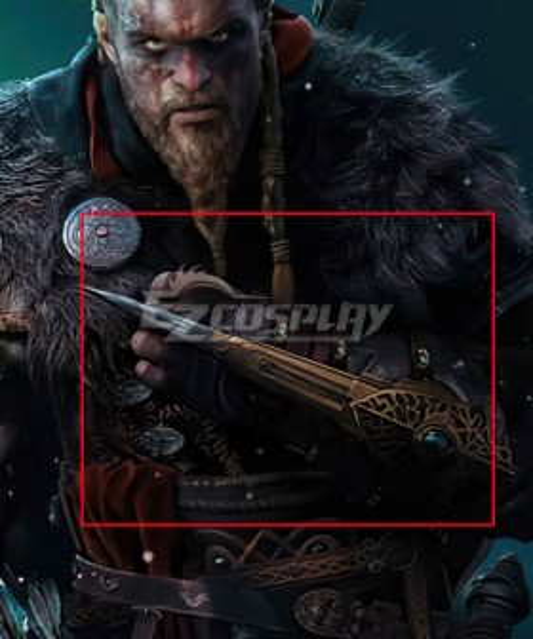 Assassin's Creed Valhalla Eivor Bayonet Cosplay Weapon Prop
