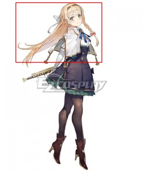 Atelier Ryza: Ever Darkness & the Secret Hideout Klaudia Valentz Gold Cosplay Wig