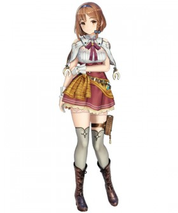 Atelier Ryza: Ever Darkness & the Secret Hideout Reisalin Stout Raizarin Shutauto Raiza Ryza Cosplay Costume