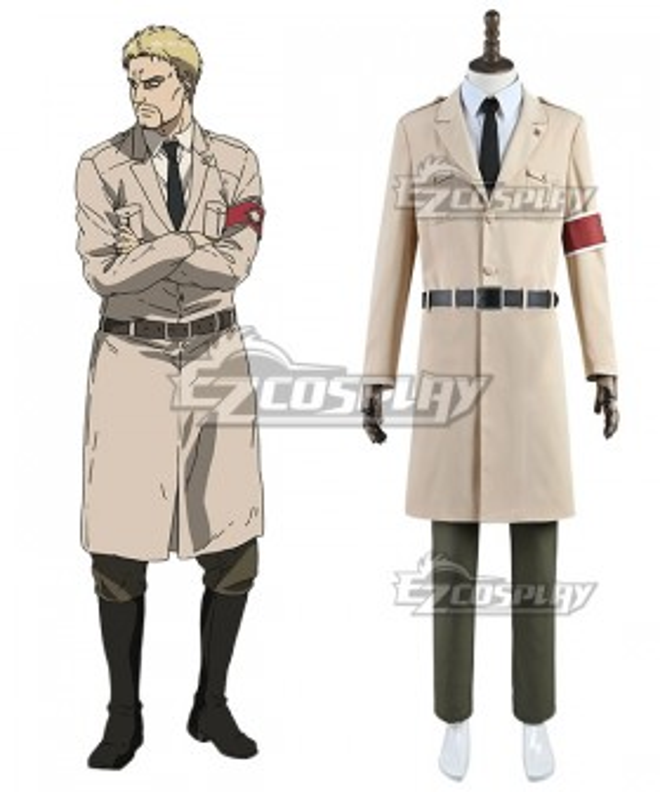 Attack On Titan Shingeki No Kyojin Final Season Reiner Braun Ver 2 Cosplay Costume