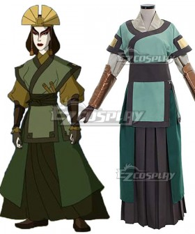 Avatar: The Last Airbender Kyoshi Warriors Cosplay Costume