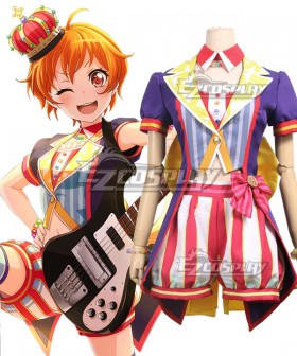 BanG Dream! Hello HappyWorld! 2nd Single Kitazawa Hagumi Cosplay Costume