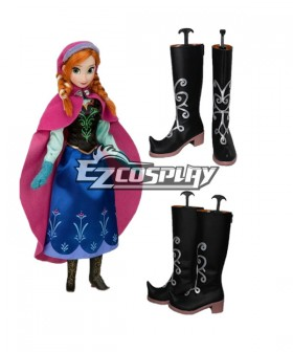 Frozen Anna Disney Cosplay Shoes