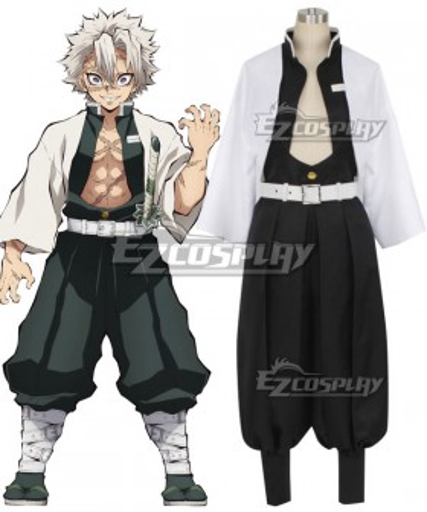 Demon Slayer: Kimetsu No Yaiba Sanemi Shinazugawa Cosplay Costume