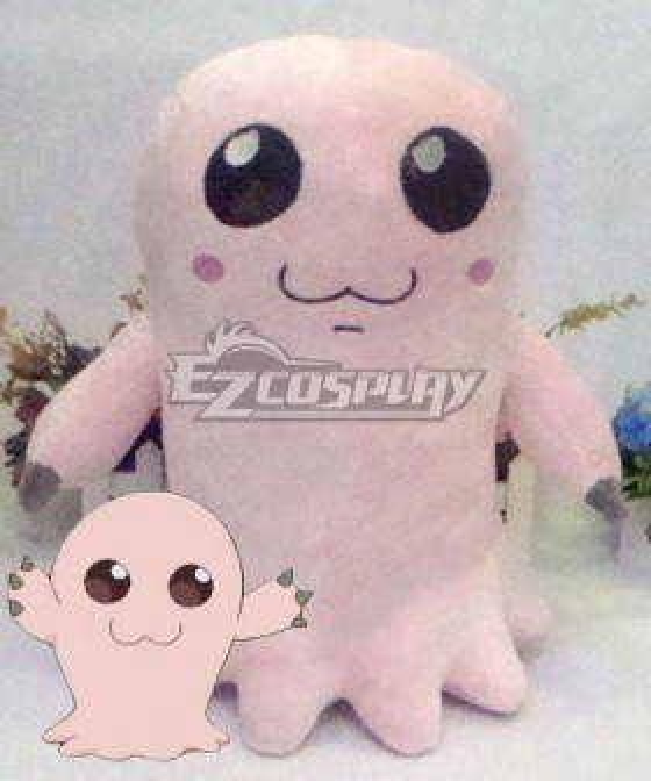 Digimon Adventure Digital Monster Mochimon Motimon Doll Cosplay Accessory Prop