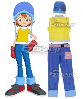 Digimon Adventure Digital Monster Sora Takenouchi Cosplay Costume