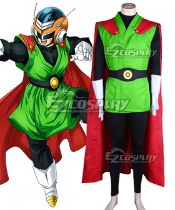 Dragon Ball Son Gohan Super Great Saiyaman Cosplay Costume