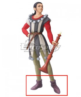 Dragon Quest XI S: Echoes of an Elusive Age Sylvia Sylvando Purple Cosplay Shoes