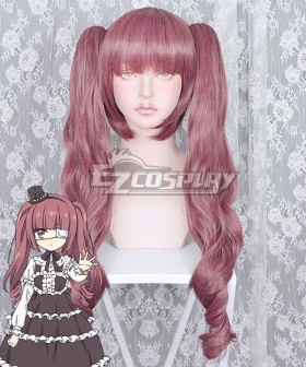Dropkick On My Devil! Yurine Hanazono Red Cosplay Wig