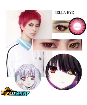 Bella Eye Generation of Miracles Kuroko's Basketball Seijuro Akashi Mei Red Cosplay Contact Lense