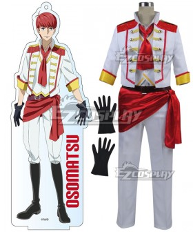 Mr. Osomatsu San Osomatsu Matsuno Red Cosplay Costume