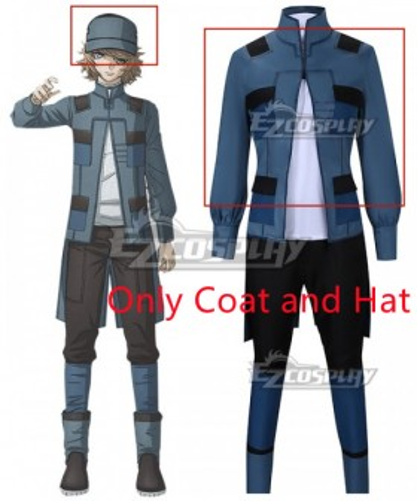 Akudama Drive Hacker Cosplay Costume