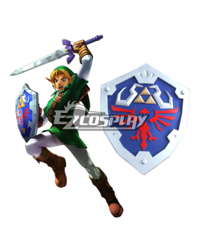 The Legend of Zelda Zeruda no Densetsu Skyward Sword Link Shield Cosplay Prop