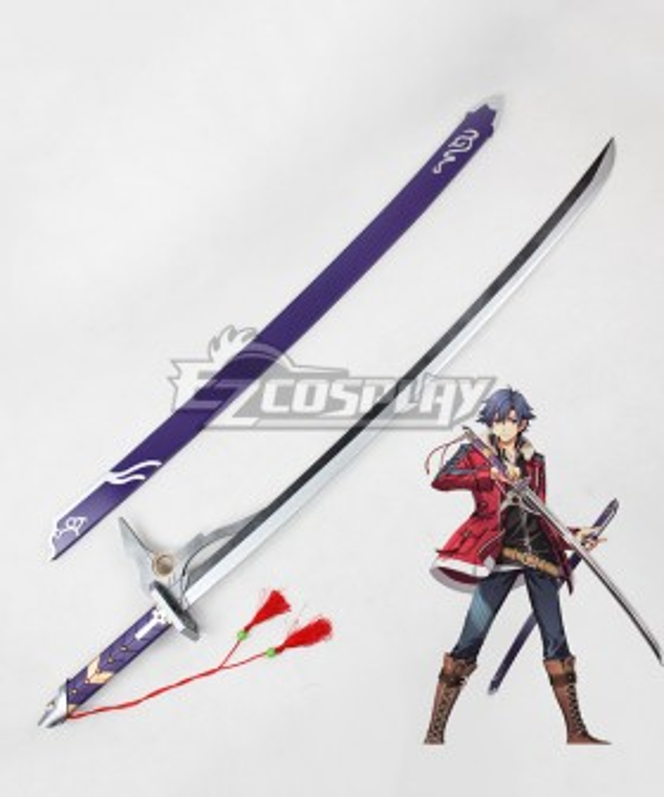 The Legend of Heroes: Trails of Cold Steel Rean Schwarzer Sword Cosplay Weapon Prop