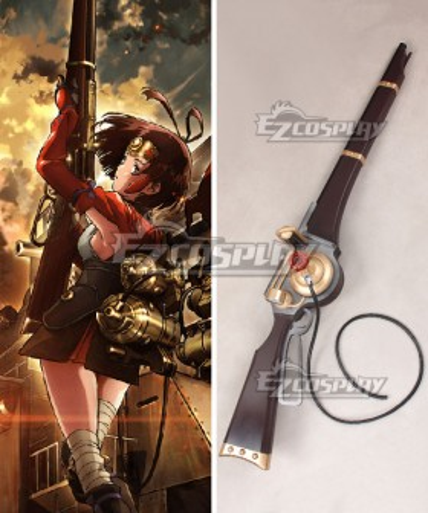 Kabaneri of the Iron Fortress Mumei Gun Cosplay Weapon Prop - B Edition