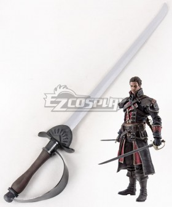 Assassin's Creed: Rogue Shay Patrick Cormac Long sword Cosplay Weapon Prop