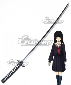 Hell Girl: Yoi no Togi Ai Enma Sword Cosplay Weapon Prop
