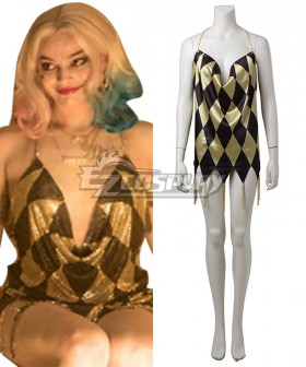 DC Suicide Squad Harley Quinn Sexy Dress Cosplay Costume