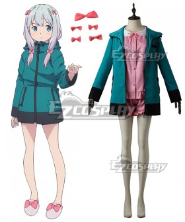 Eromanga Sensei Sagiri Izumi Pajamas Cosplay Costume
