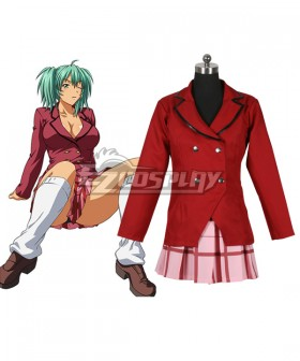 Ikki Tousen Ryofu Housen Cosplay Costume
