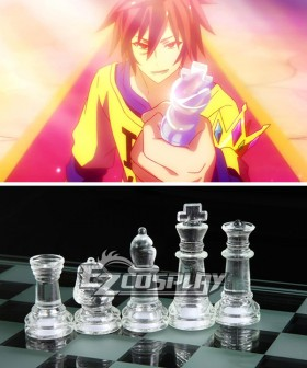 No Game No Life Sora Shiro Chess King Queen Cosplay Accessories