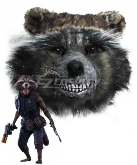 Guardians of the Galaxy Vol. 2 Rocket Raccoon Mask Cosplay Accessory Prop