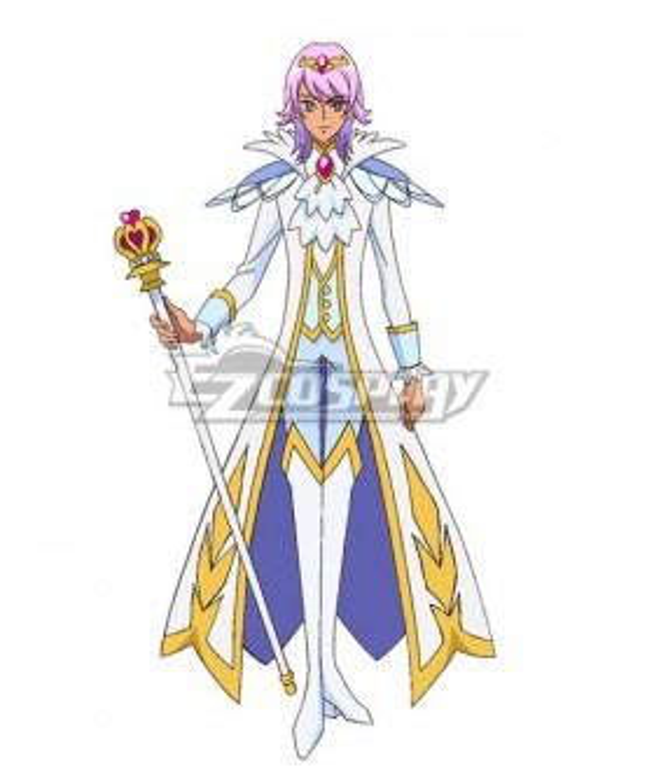 Go! Princess PreCure Prince Kanata Cosplay Costume