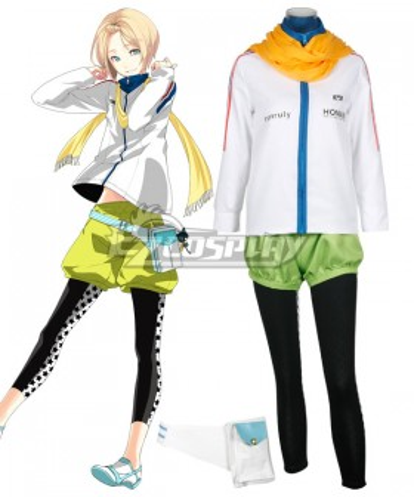 Prince of Stride Alternative Hounan School Hozumi Kohinata Athletic Wear Cosplay Costume - A Edition