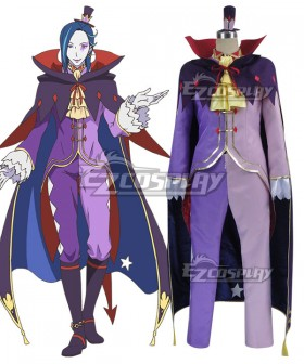 Re: Life In A Different World From Zero Roswaal L Mathers Cosplay Costume