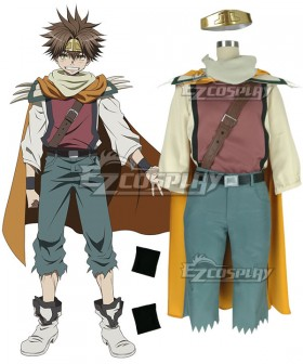 Saiyuki Reload Blast Son Goku Cosplay Costume