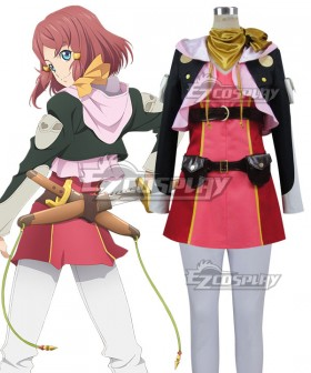 Tales of Zestiria the X Rose Cosplay Costume