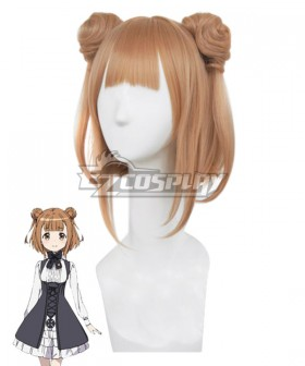 Princess Principal Beatrice Orange brown Cosplay Wig