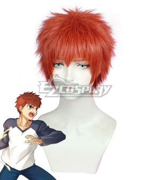 Fate Stay Night Today's Menu for the Emiya Family Emiya Shirou Red Cosplay Wig