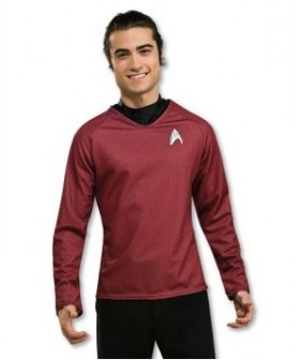 Star Trek Movie 2009 Grand Heritage Red Shirt Adult Costume