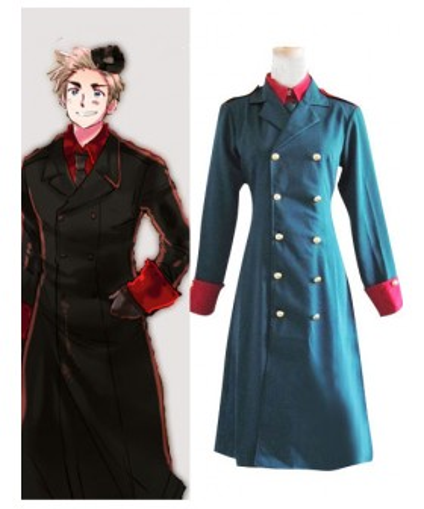 Denmark Cosplay Costume from Axis Powers Hetalia