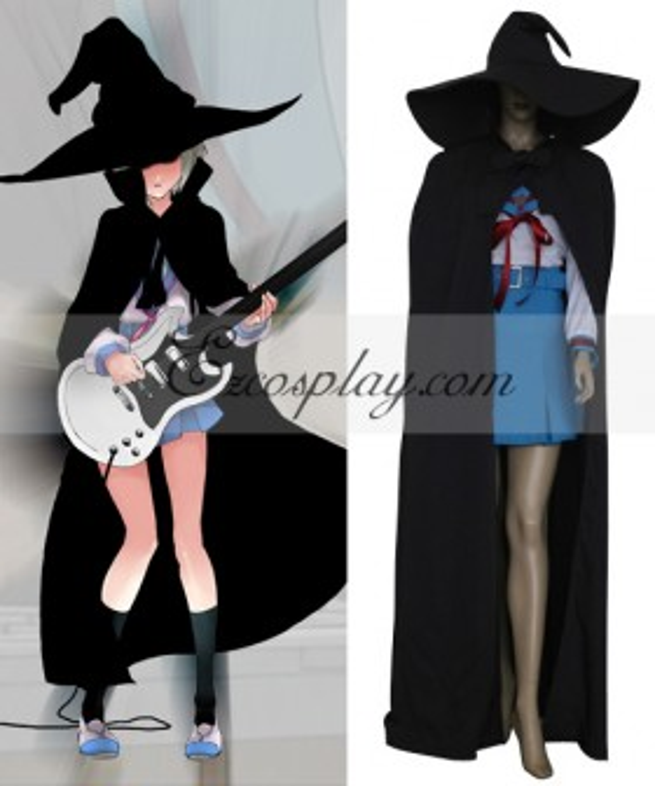 Haruhi Suzumiya Nagato Yuki Witch Cosplay Costume