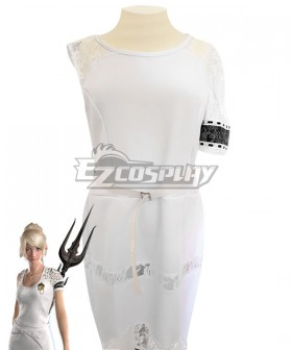 Final Fantasy XV: A New Empire FF15 Lunafreya Nox Fleuret Dress Cosplay Costume