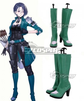Fire Emblem: Three Houses Shamir Green Shoes Cosplay Boots