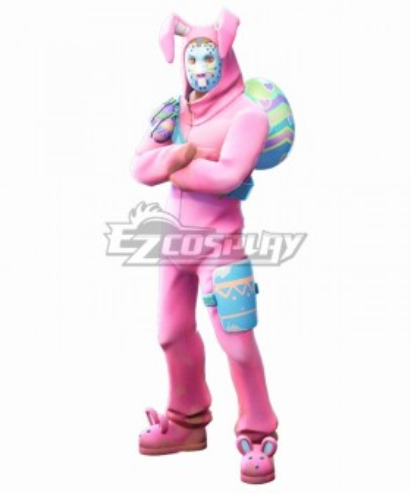 Fortnite Battle Royale Rabbit Raider Cosplay Costume