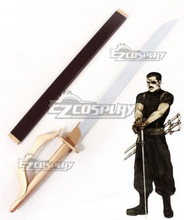Fullmetal Alchemist King Bradley Sword Cosplay Weapon Prop